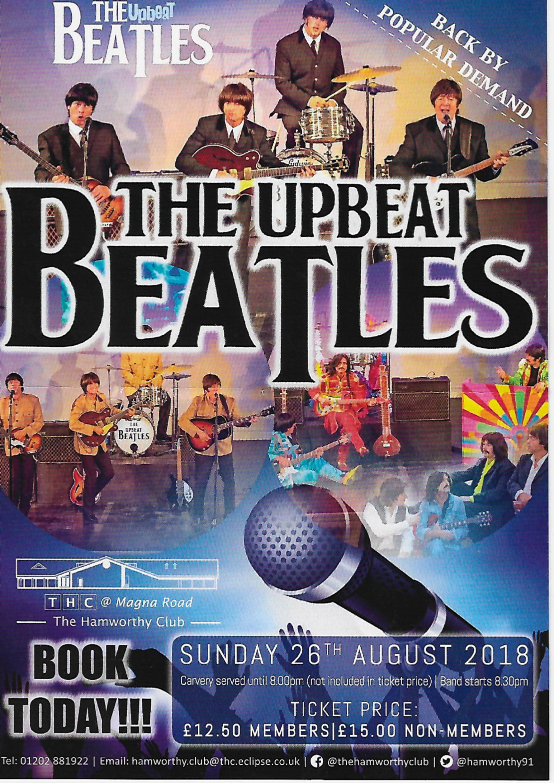 The Upbeat Beatles live in Poole